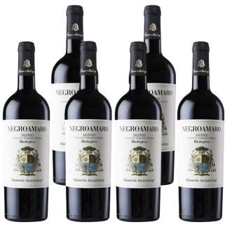 vino negroamaro biologico