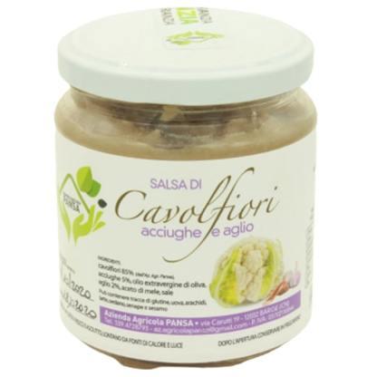 salsa di cavolfiori acciughe e aglio