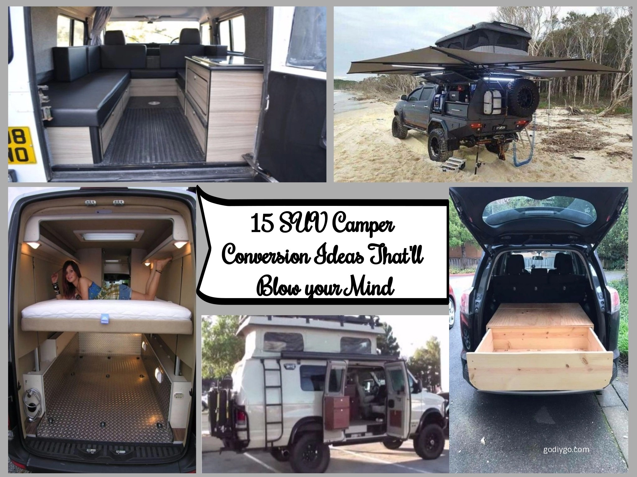 15 SUV Camper Conversion Ideas Thatll Blow Your Mind