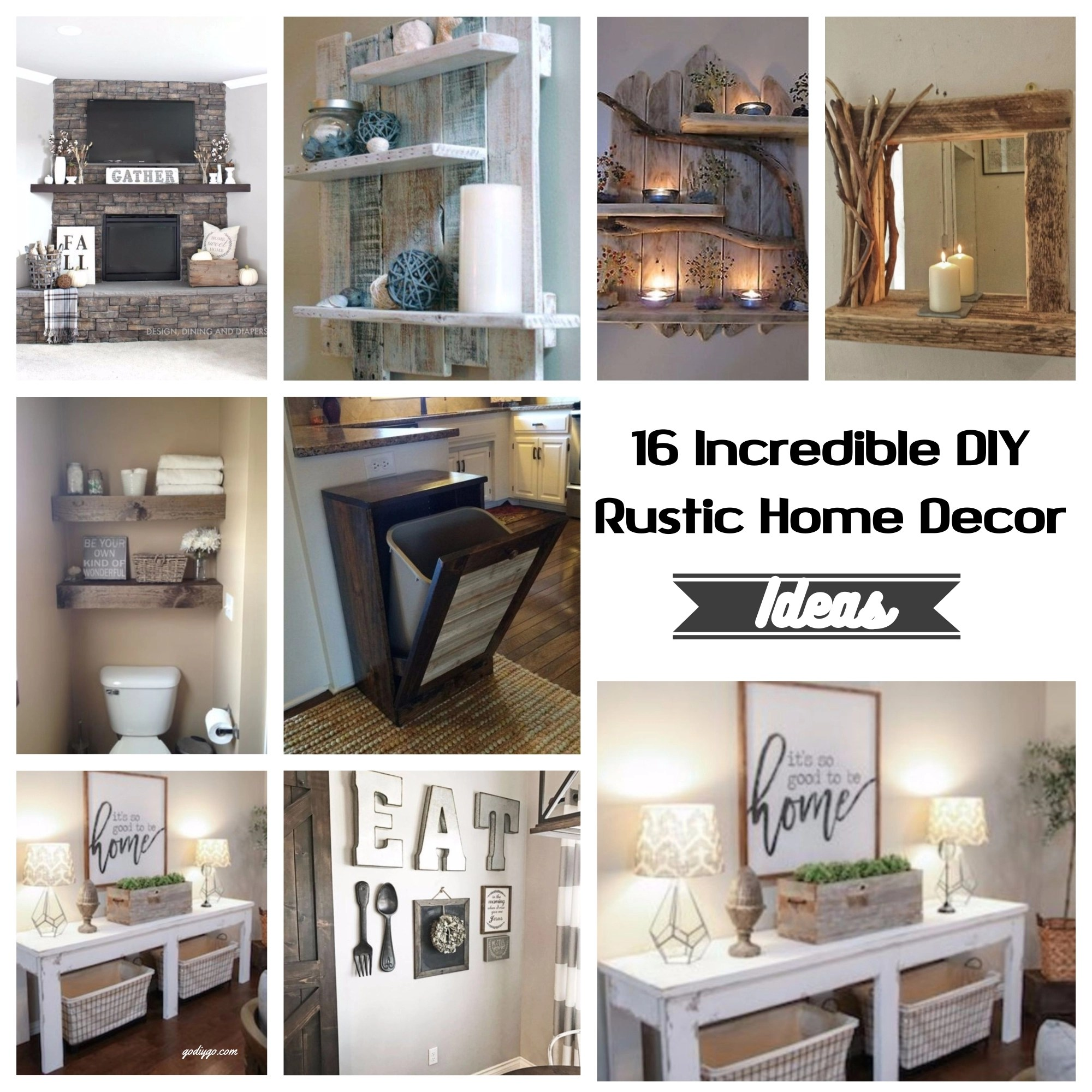 Diy Rustic Home Decor Ideas Part - 40: Whether You Live In The Country Or Your Home ...