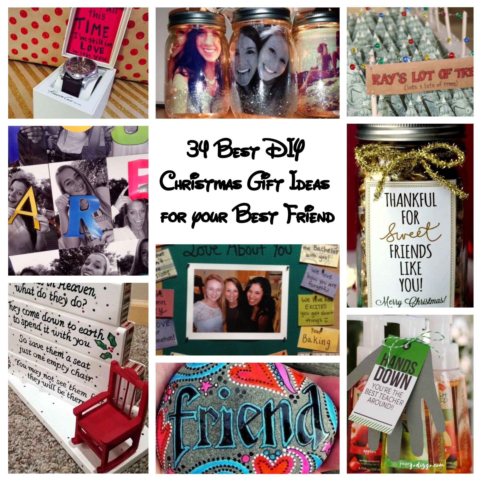 Diy christmas gift ideas for best friends
