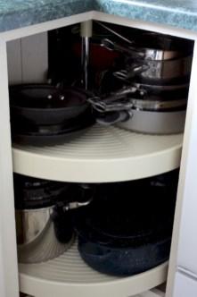 Awesome kitchen cupboard organization ideas 12
