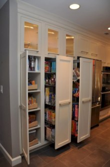Awesome kitchen cupboard organization ideas 13