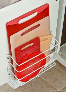 Awesome kitchen cupboard organization ideas 33