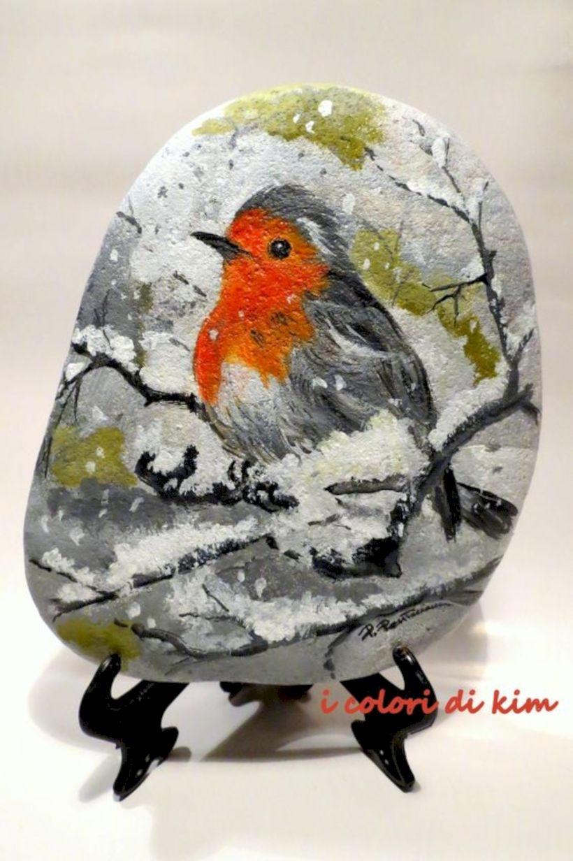 17 Painted Rock Stone For Perfect Garden Ornament