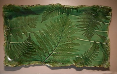 Creative diy dishes made from clay leaves 04