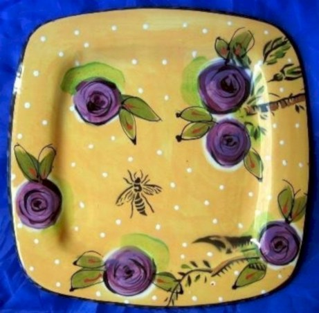 Creative diy dishes made from clay leaves 15