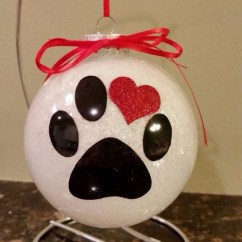 Diy cristmas painted rock design 15