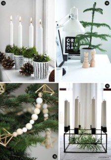 Diy decorating scandinavian christmas 10