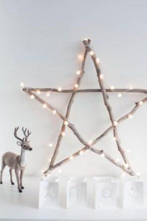 Diy decorating scandinavian christmas 13