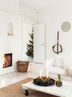 Diy decorating scandinavian christmas 22