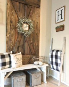 Diy farmhouse entryway inspiration 05