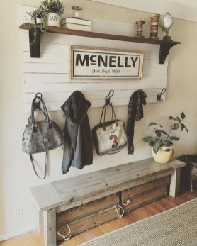 Diy farmhouse entryway inspiration 06