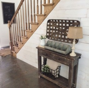 Diy farmhouse entryway inspiration 12