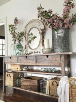 Diy farmhouse entryway inspiration 27