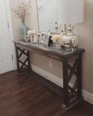 Diy farmhouse entryway inspiration 32