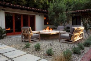 Diy outdoor fireplace and firepit ideas 08