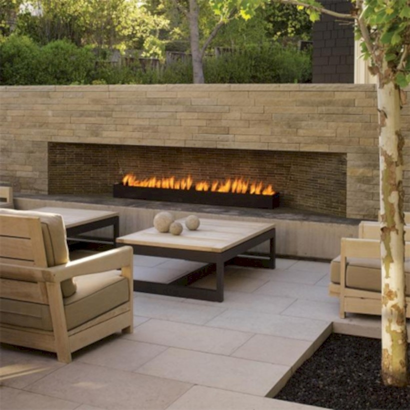 37 DIY Outdoor Fireplace and Fire pit Ideas - GODIYGO.COM on Diy Outdoor Fire id=96246