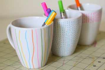 Diy painted porcelains to decorate your home 12