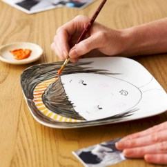 Diy painted porcelains to decorate your home 19