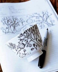 Diy painted porcelains to decorate your home 22