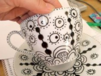 Diy painted porcelains to decorate your home 28