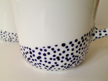 Diy painted porcelains to decorate your home 35