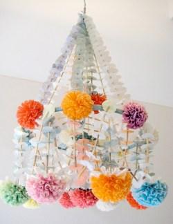 Diy polished chandelier planter 05