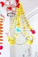 Diy polished chandelier planter 16