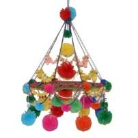 Diy polished chandelier planter 17