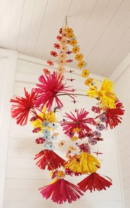Diy polished chandelier planter 24