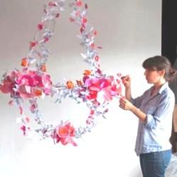 Diy polished chandelier planter 33
