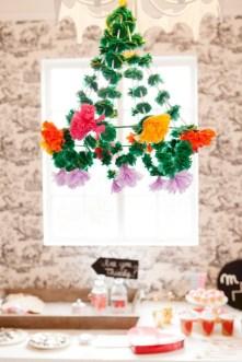 Diy polished chandelier planter 44