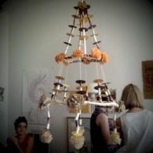 Diy polished chandelier planter 48