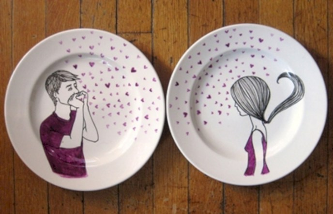 Diy sharpie dinnerware ideas 11