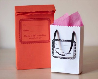 Diy small gift bags using washi tape (13)