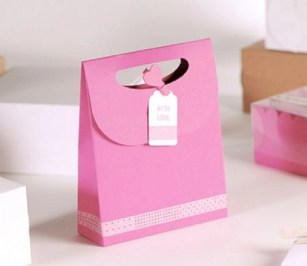Diy small gift bags using washi tape (29)