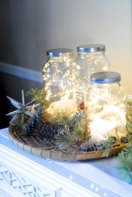 Fairy lights ideas for holiday decorating (31)