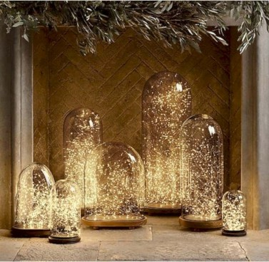 Fairy lights ideas for holiday decorating (7)