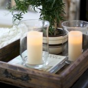 Ideas to decorate your space with candles for christmas 02