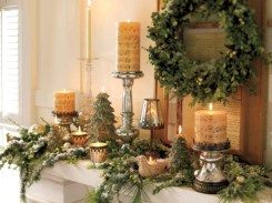Ideas to decorate your space with candles for christmas 10