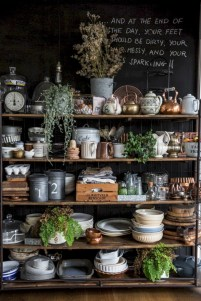Inspiring ways to use a chalkboard paint on a kitchen 14