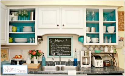 Inspiring ways to use a chalkboard paint on a kitchen 29