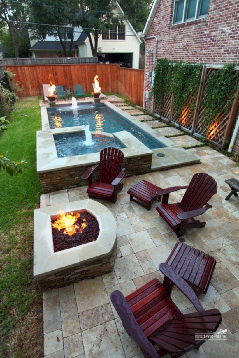 16 Decorating Tiny Pool on Your Backyard Garden - GODIYGO.COM
