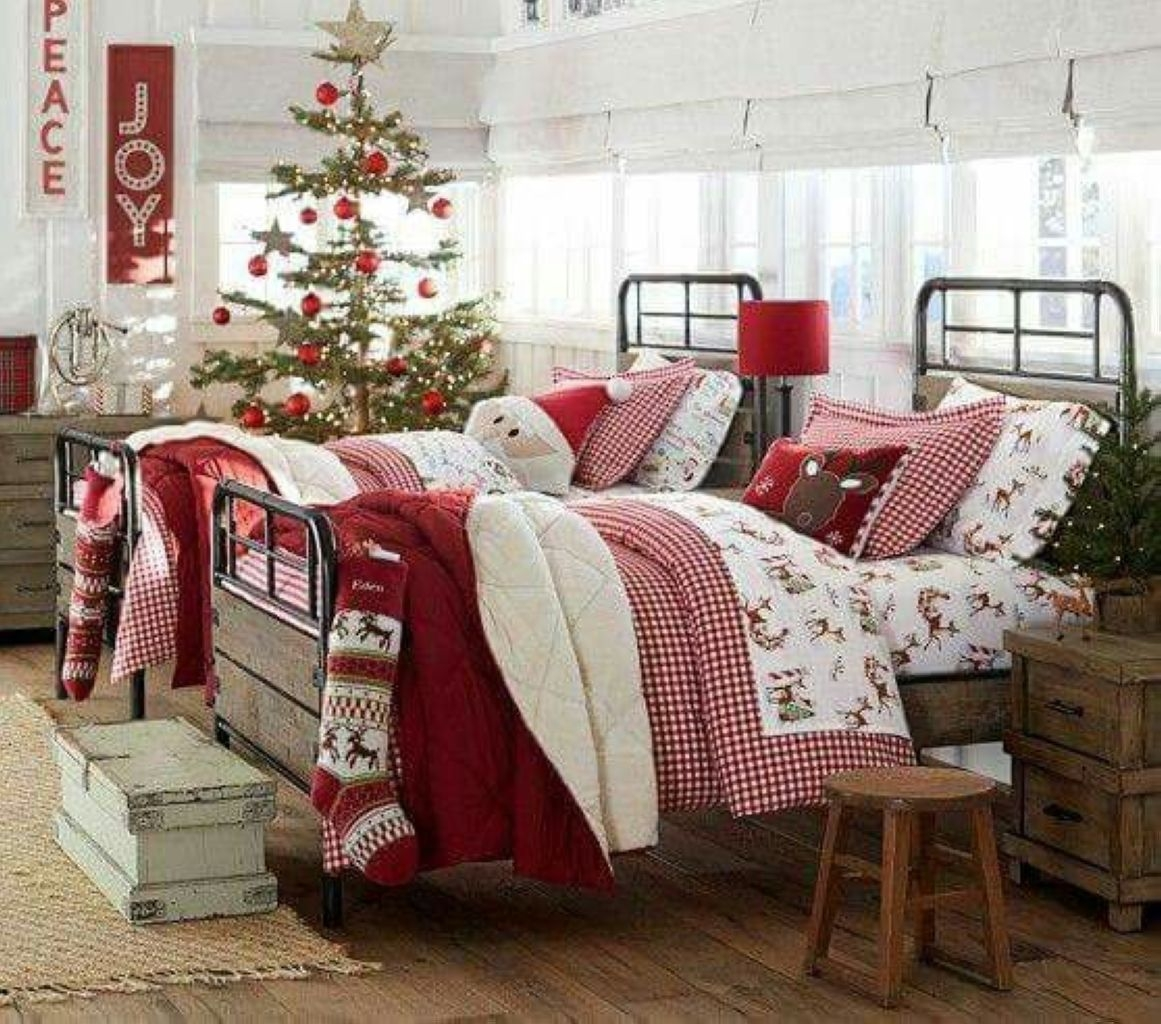 DIY Cristmas Bedroom Decoration for Children