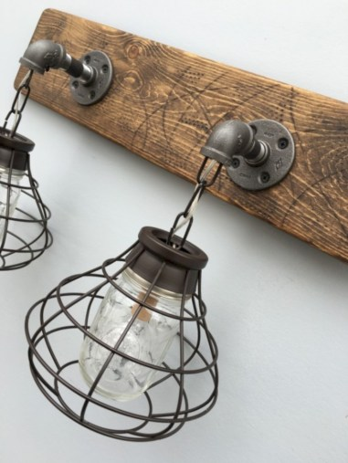 Savvy handmade industrial decor ideas 21