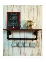 Savvy handmade industrial decor ideas 25