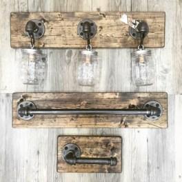 Savvy handmade industrial decor ideas 30