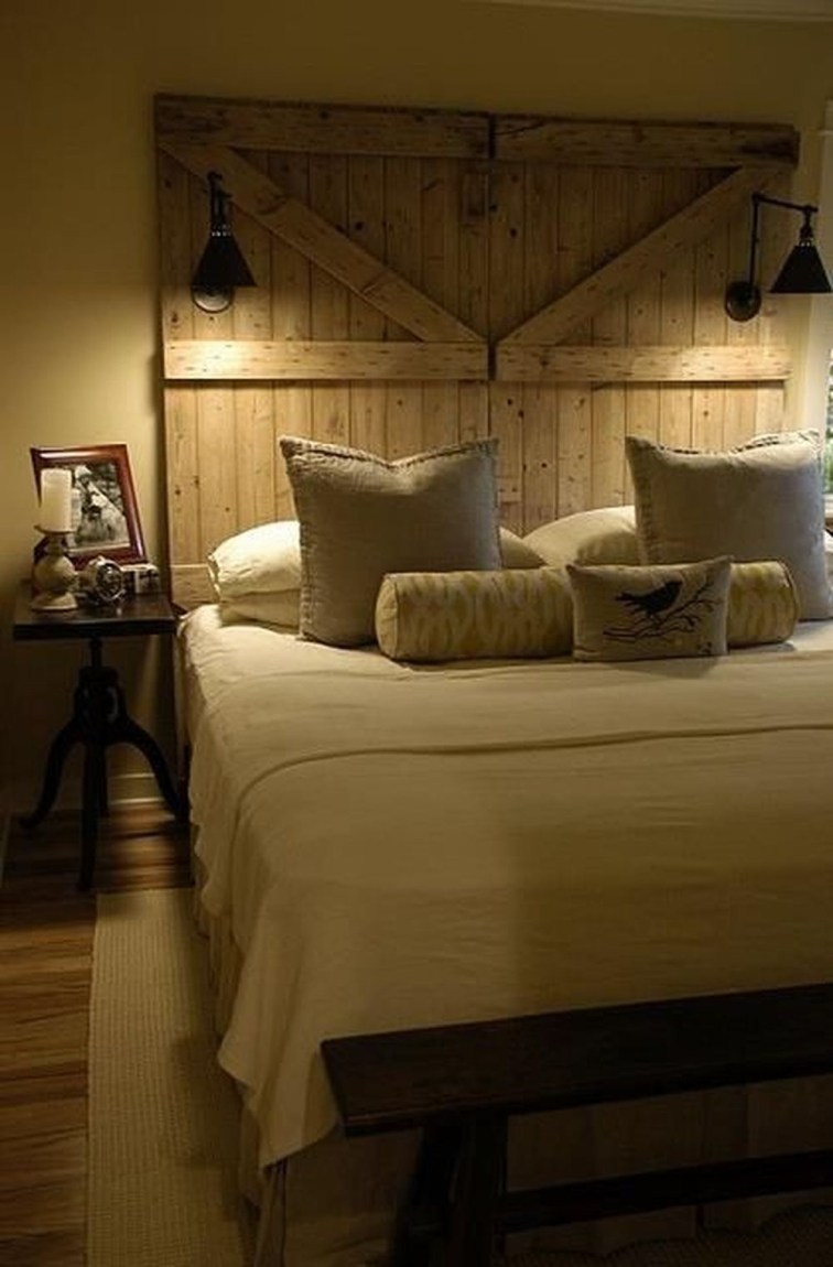 16 Outstanding Diy Reclaimed Wood Headboards For Rustic