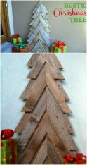Ways to make your own christmas tree from pallet wood 03
